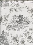Ami Charming Prints Wallpaper Laure 2657-22223 By A Street Prints For Brewster Fine Decor